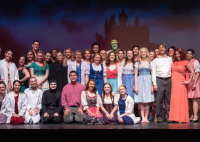 Young Frankenstein Cast Photo