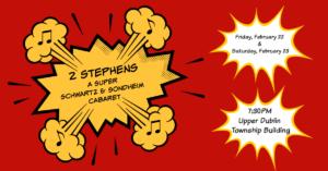 2 Stephens: A Super Schwartz and Sondheim Cabaret @ Upper Dublin Township Building  | Fort Washington | Pennsylvania | United States