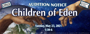 AUDITIONS for Children of Eden @ Burn Brae Day Camp