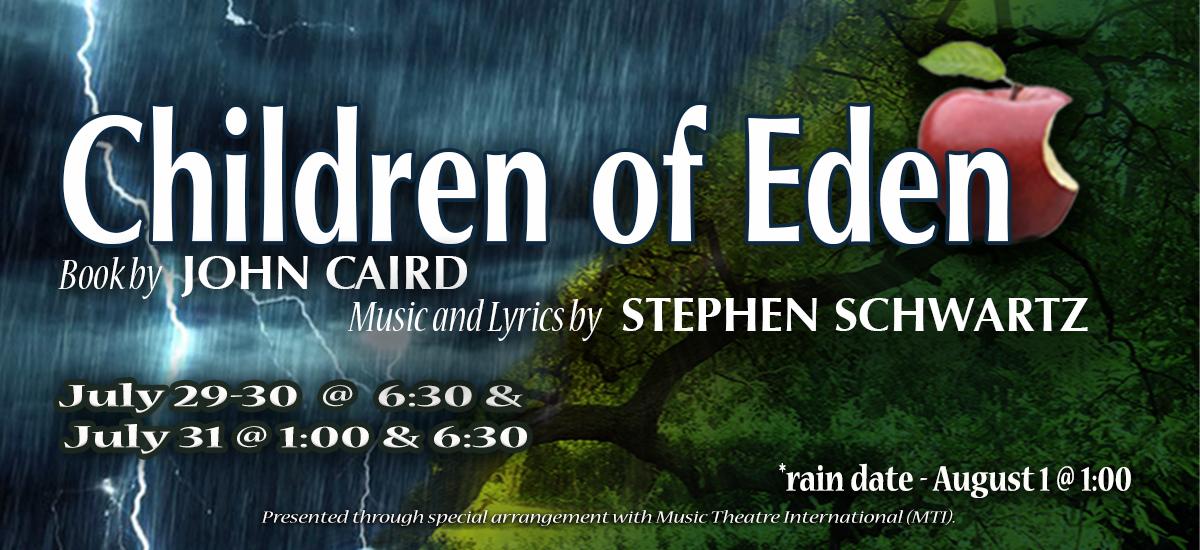 Children of Eden performance banner